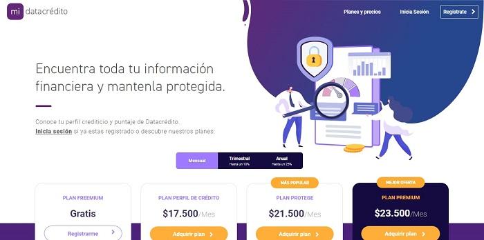 Cómo consultar tu puntaje en DataCrédito