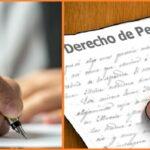Derecho de petición en interés particular y general